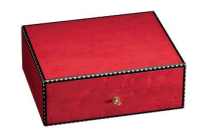 Griffins Humidor Ahorn rot 75